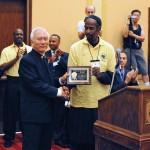 Gift from Sifu Abdul to Grandmaster Huang