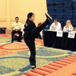Forms competition adult women Kung Fu northern