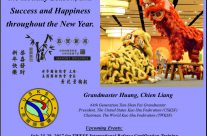 Best Wishes for the Holiday Season from Grandmaster Huang, Chien-Liang