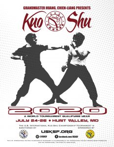 Save the Date for Kuo Shu 2020!
