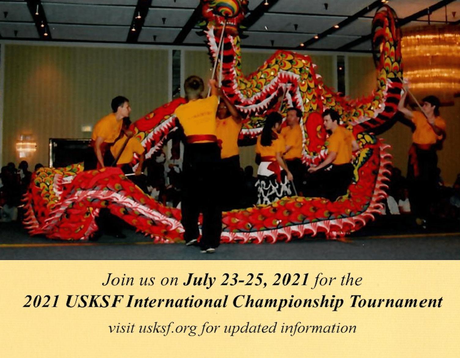 Dragon Dance 2021 USKSF Tournament Poster